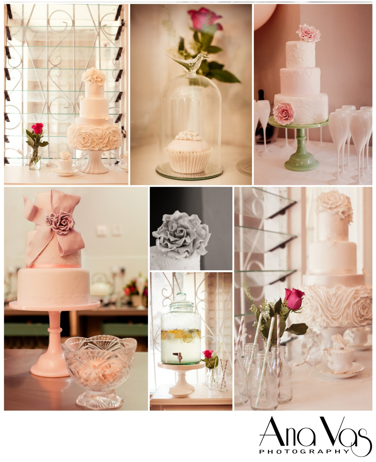 I can finally say, the cakes taste as AMAZING as they look. MMMmmmmmm :)