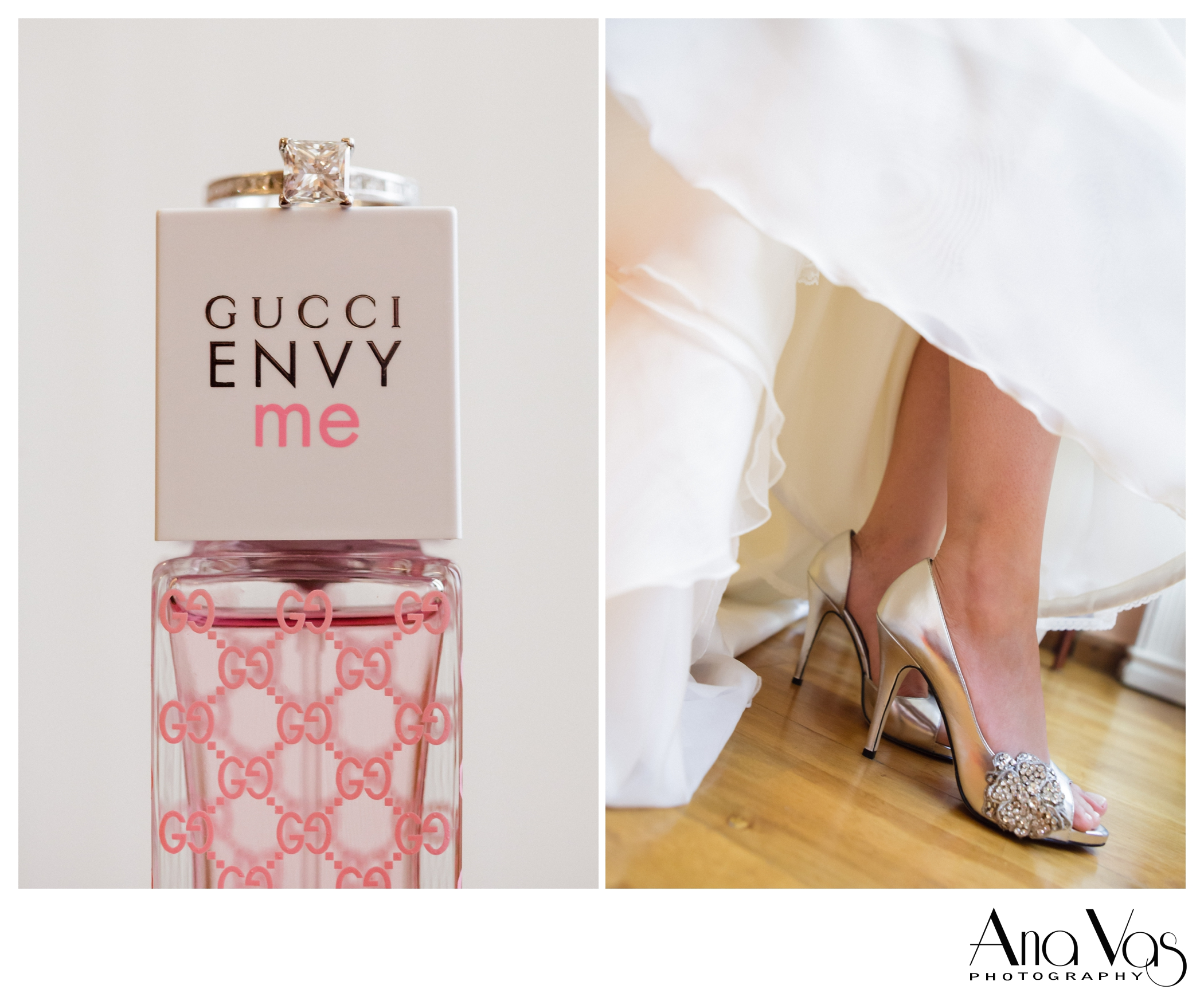 Wedding Details, shoes and ring