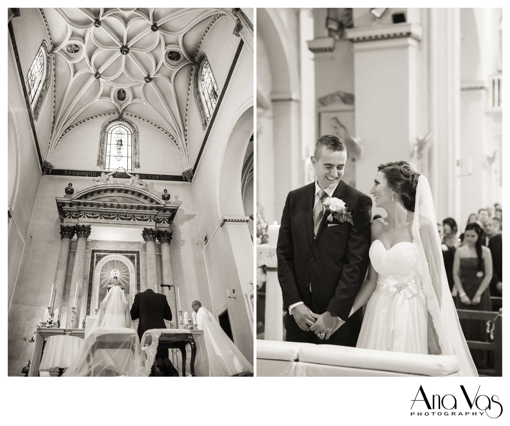 Wedding at Cathedral of St. Mary The Crowned