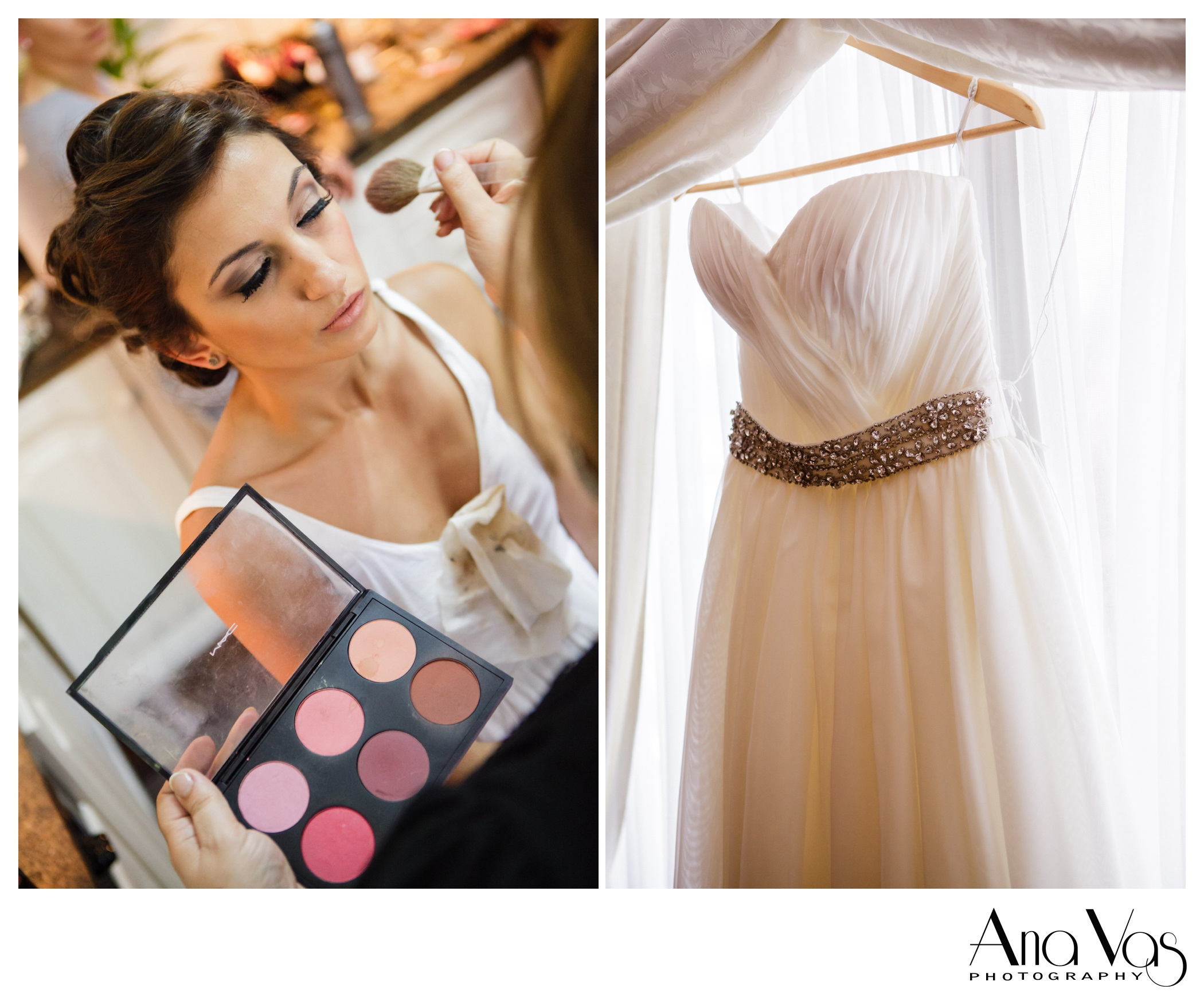 Wedding Dress and Make Up