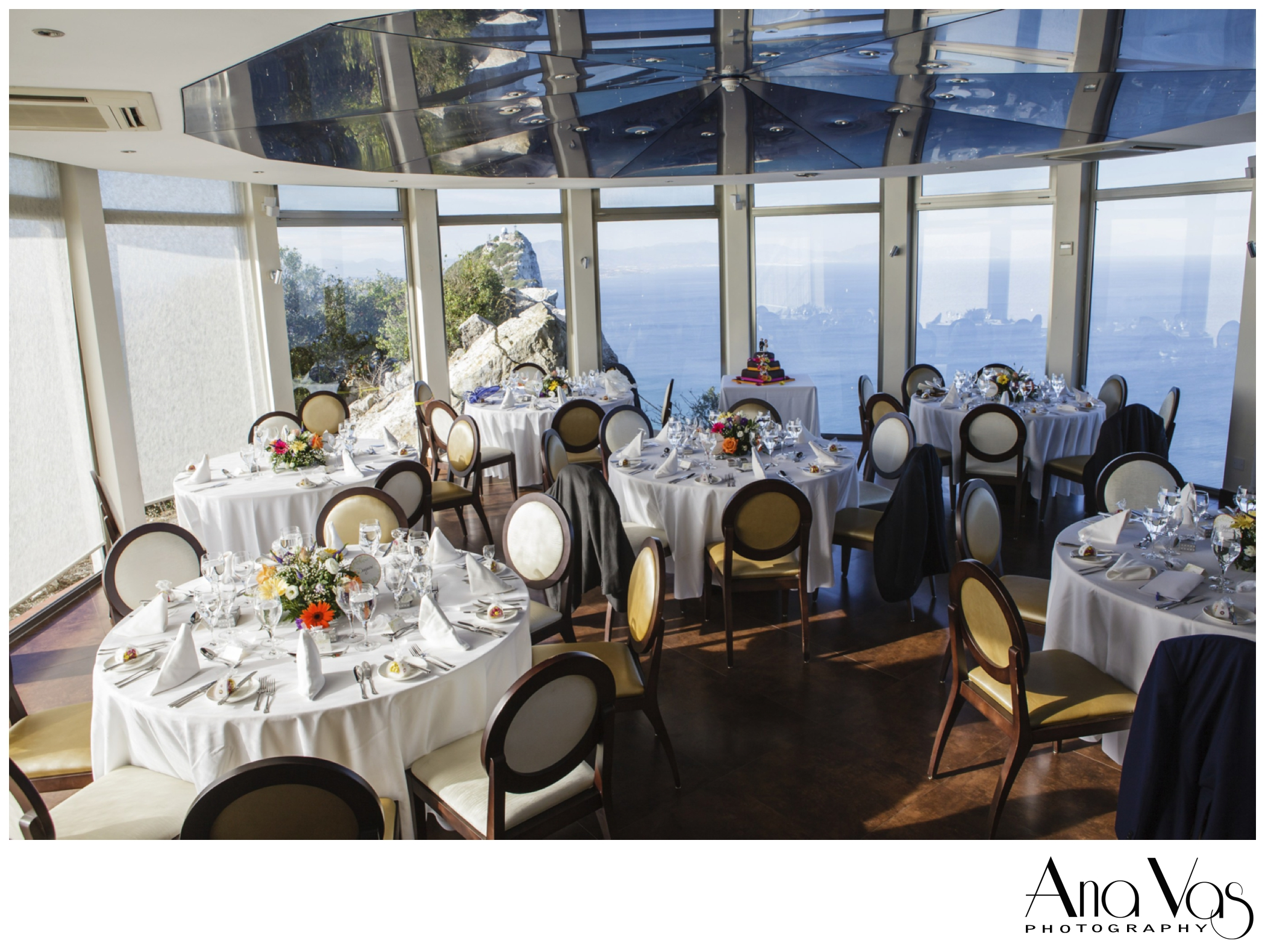 Wedding Reception at The Mons Calpe Suite, Gibraltar